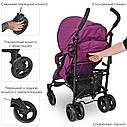 Прогулочная коляска-трость El Camino Rush ME 1013 Ultra Violet фиолетовая, фото 6