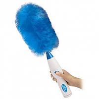 Электрическая щетка для уборки пыли Hurricane Spin Duster Blue