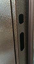 Двустворчатые металлические входные двери металл/МДФ Арка винорит на улицу 120 см., фото 3
