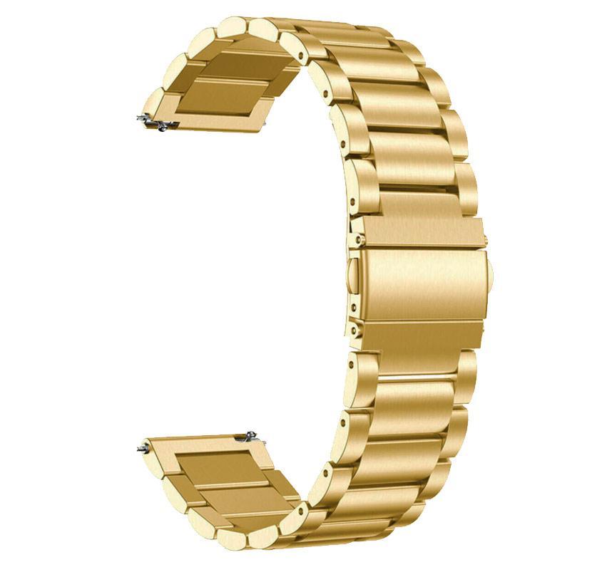 Металлический ремешок Primo для часов Samsung Galaxy Watch 46mm (SM-R800) - Gold