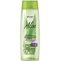 """Шампунь-Balance """"М'який догляд"""" для волосся, жирних біля коріння і сухих на кінчиках - Витэкс Aloe"""