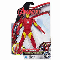 Игровая Фигурка Железного Человека, 15 см, стреляющая - Iron Man, Avengers, Initiative, Repulsor Blast,