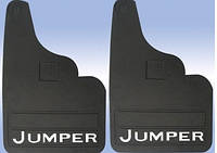 Citroen Jumper 1995-2006 гг. Брызговики прямые (2шт)