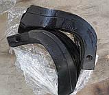 Ножи для почвофрезы R175 / 180N / 190N / 195NM ( 9 правый + 9 левый) - 18шт( комплект) мотоблоков, фото 4