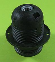 Патрон з різьбленням E27 (чорний)