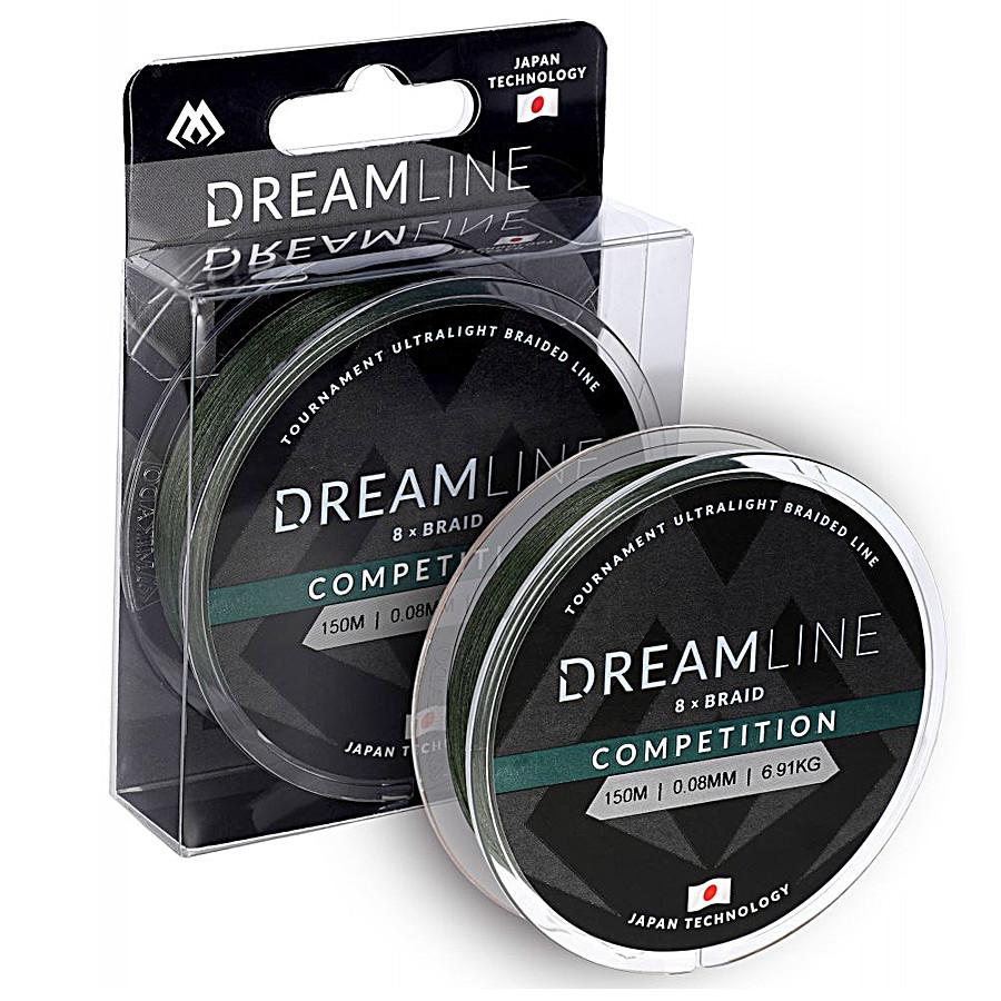 Шнур Mikado Dream Line Competition 150м 0,12мм 10,21кг green
