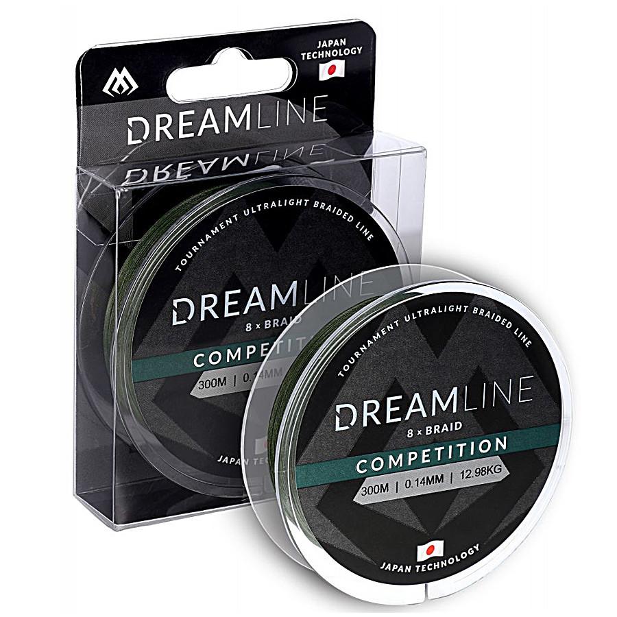 Шнур Mikado Dream Line Competition 300м 0,16мм 15,54кг green