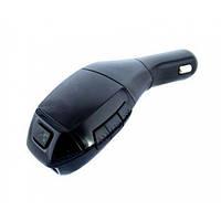 Автомобильный ФМ Bluetooth модулятор FM трансмиттер для авто в машину HZ H20BT Original Черный, (Оригинал)