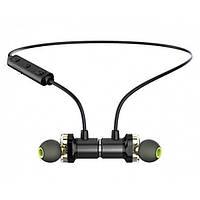 Беспроводные Bluetooth стерео вакуумные наушники Awei Original с гарнитурой Чёрные  (X660BL)