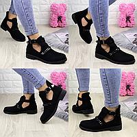 Ботиночки женские черные Jean 1261