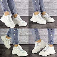 Женские белые кроссовки Caddy 1513