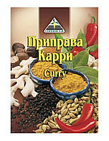 Приправа карри (curry) 25гр ТМ «Cykoria s. a.»