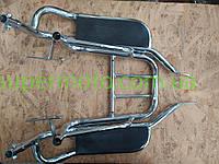 Багажник задний металлический   Alpha   (с подножками)   ST