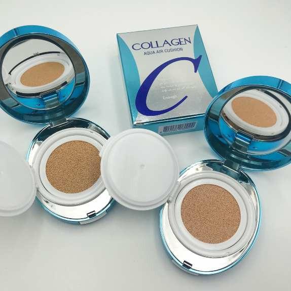 Увлажняющий кушон Enough Collagen Aqua Air Cushion - №21