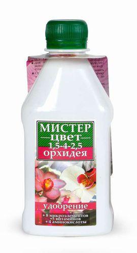 """""""Мистер-Цвет"""" Орхидея удобрения для цветущих растений 300 мл """"Гилея"""""""