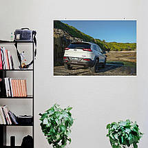 "Постер ""Jeep Grand Cherokee"". Вариант №8. Размер 60x40см (A2). Глянцевая бумага, фото 2"