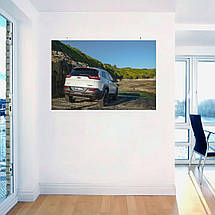 "Постер ""Jeep Grand Cherokee"". Вариант №8. Размер 60x40см (A2). Глянцевая бумага, фото 3"