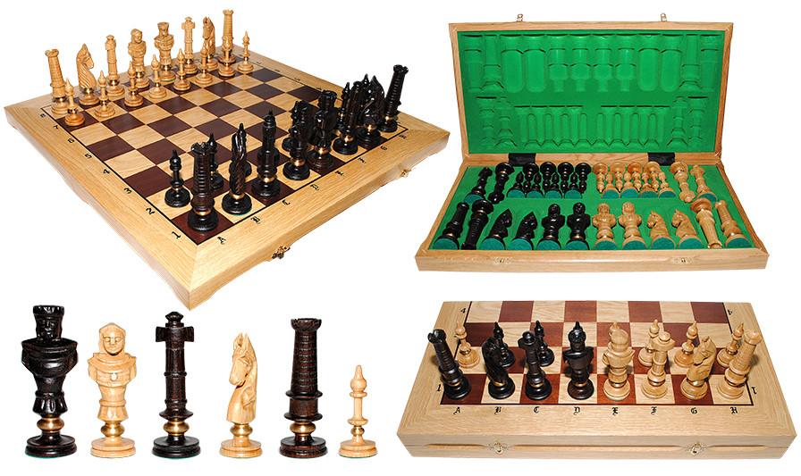 Шахматы из дуба ROYAL