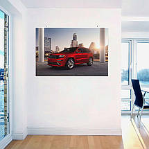 "Постер ""Jeep Grand Cherokee"". Вариант №11. Размер 60x41см (A2). Глянцевая бумага, фото 3"