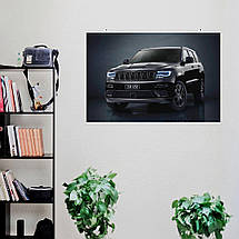 "Постер ""Jeep Grand Cherokee"". Вариант №16. Размер 60x40см (A2). Глянцевая бумага, фото 2"