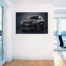 "Постер ""Jeep Grand Cherokee"". Вариант №16. Размер 60x40см (A2). Глянцевая бумага, фото 3"