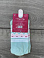 Носки короткие женские хлопок Pier Esse с котиком ушки выглядят 35-40 12 шт в уп микс из 4х цветов, фото 4