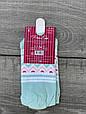 Шкарпетки короткі жіночі бавовна Pier Esse з котиком вушка виглядають 35-40 12 шт в уп мікс з 4х кольорів, фото 4