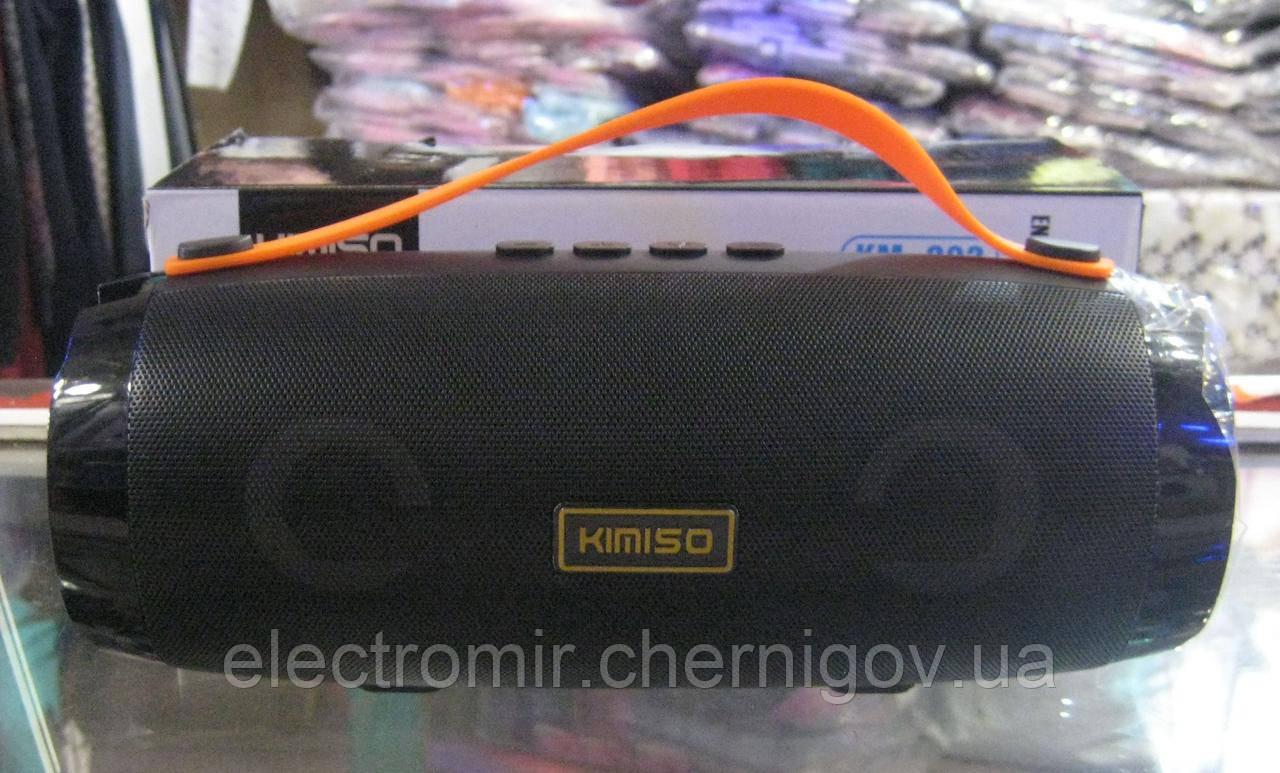 Портативная Bluetooth колонка Kimiso KM-202 (чёрная)