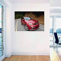 "Постер ""Jeep Grand Cherokee"". Вариант №18. Размер 60x40см (A2). Глянцевая бумага, фото 3"