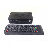 ТВ-ресивер UKC  тюнер цифровой приёмник T2 с поддержкой Wi-Fi адаптера для телевизора с приложением YouTube плюс пульт Чёрный (0967), (Оригинал)