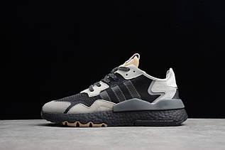 Кросівки чоловічі Adidas Nite Jogger 2019 Boost / ADM-2521 (Репліка)