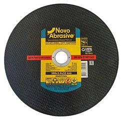 Круг отрезной по металлу 300х3,0х32 NovoAbrasive