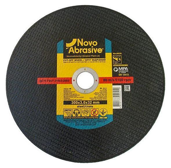 Круг відрізний по металу 350х3,0х25,4 NovoAbrasive