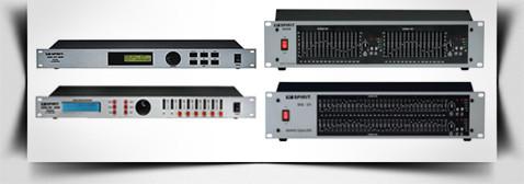 Звуковые процессоры и эквалайзеры