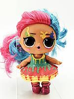 Кукла LOL Surprise 5 Серия Hairgoals Splatters - Клякса Under Wraps Лол Сюрприз Оригинал