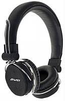 Bluetooth стерео наушники AWEI A700BL Black (5017)