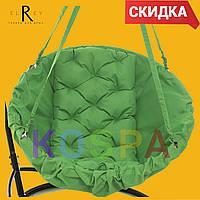 Садовые кресло-качели Зелёный - без подставки