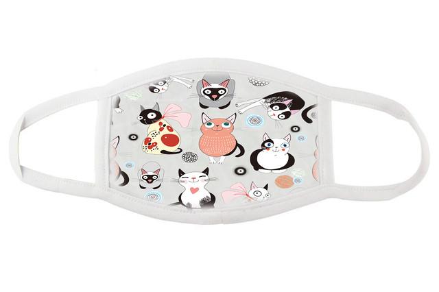 Тканевая маска для лица Коты