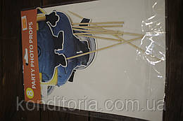 Бумажный декор на праздник миньены