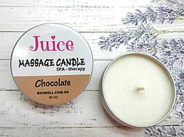Juice Массажная свеча 30 мл Chocolate (Шоколад)