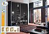 Шкафы-купе от 1810 мм до 2690 мм, три двери, гл. 600