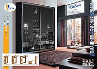 Шкафы-купе от 2710 мм до 3990 мм, четыре двери, гл. 450, фото 1
