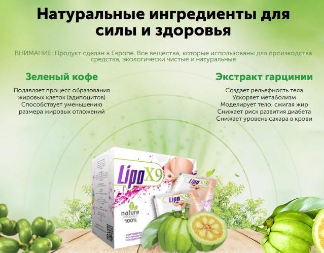 состав LipoX9