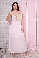 Нежное Женское Платье в пол Разные Цвета