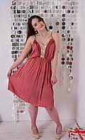 Короткое Нарядное Платье  в Разных Цветах