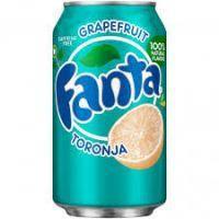 FANTA GRAPEFRUIT 355ml USA - coffeine FREE