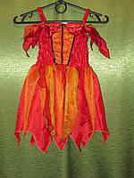 Платье Осени на 2-3 года с обручем на прокат, фото 1
