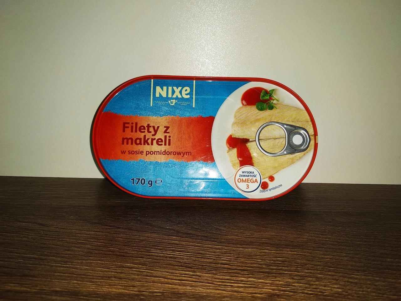 Консерва філе скумбрії в томаті Nixe 170 гр.