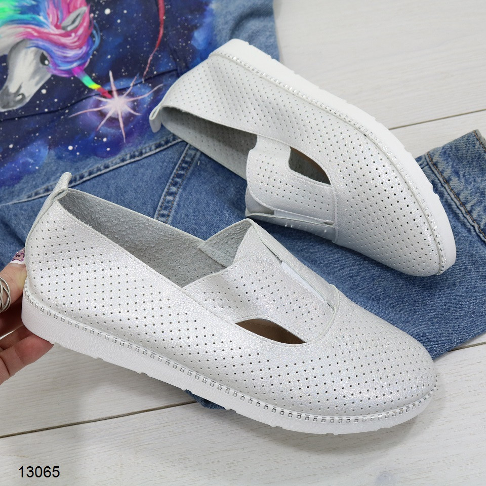 Туфли мокасины женские