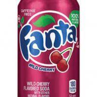 FANTA WILD CHERRY 355ml USA - coffeine FREE